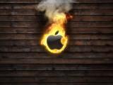 燃烧的苹果