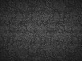 黑色花紋圖案