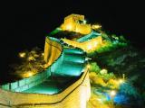 万里长城夜景