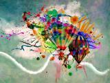 涂鸦热气球