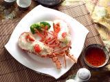 美味清蒸海蝦
