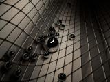 3d黑色圓珠