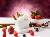 草莓蛋卷冰淇淋