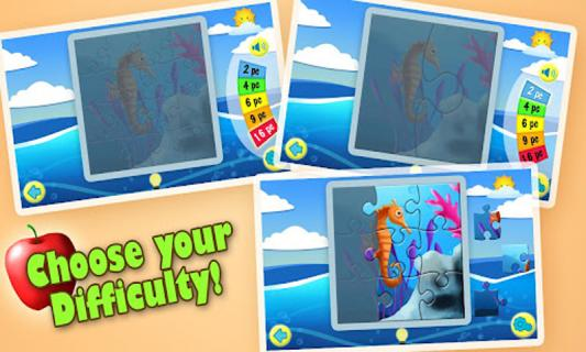 在完成拼图之后,游戏还会读出你所完成动物的名称